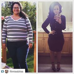 Before and after weight loss transformation story...  Great inspiration and fitness motivation! | TheWeighWeWere.com