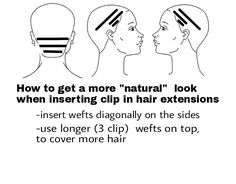 how-to-attach-clip-in-hair-extensions