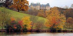 Biltmore Estate in the Fall