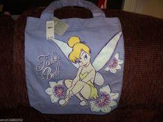 Disney's Tinkerbell Purple Bag NEW