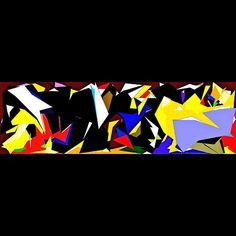 #modernart #contemporaryart #abstractart #abstract #art #artist #dtlaartscene #dtlaart #painting #artwork #artoftheday #artworkoftheday #laart #yellow #colors #black #instaartist #instaart #red