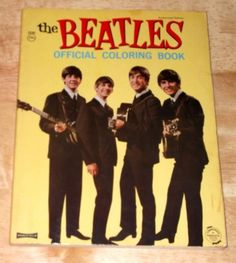 Vintage 1964 Beatles Official Coloring Book No. 5240