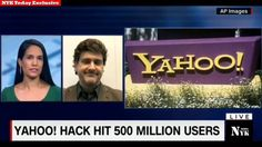 Yahoo 'state' hackers stole data from 500 million users || Yahoo ! Hack ...