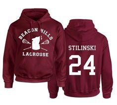 Moletom Beacon Hills Lacrosse - Teen Wolf - S.A Store
