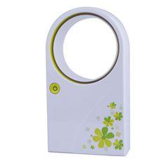 Cute Portable Handheld No Leaf Fan Cooling Cooler USB Desktop Air Conditioner