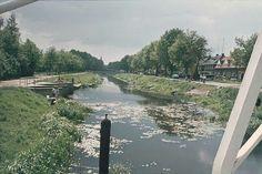 Almelo Nordhorn kanaal vanaf het linkerbruggetje.