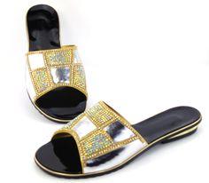 Big Size 43 Bohemia 2016 Summer Fashion T-Strap Flat Sandals Beaded Gemstone Roman Sandals Women Shoes Sapatos Femininos