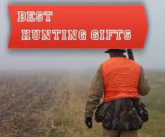 A list of hunting gifts for use out in the field while hunting! Lots of other gift ideas too!