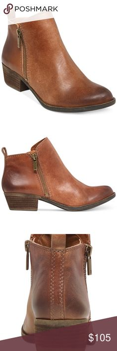 Lucky Brand Boot Worn once for a couple of hours.  Great condition and in original Box. Lucky Brand Shoes Ankle Boots & Booties
