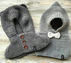 Discover thousands of images about Cute bear baby hoodie How To Start Knitting, Knitting For Kids, Crochet For Kids, Free Knitting, Knitting Needles, Baby Knitting Patterns, Knitting Designs, Patron Crochet, Knit Crochet