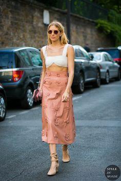 Elena Perminova by STYLEDUMONDE Street Style Fashion Photography