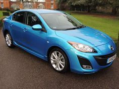 Used 2010 (60 reg) Blue Mazda 3 2.0 Sport 4dr [i-Stop] for sale on RAC Cars