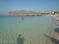 """Lido Burrone""(Spiaggia) Favignana, Isole Egadi Sicilia"