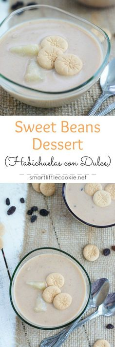 Sweet, creamy and delicious, this sweet beans cream or habichuelas con dulce is the most popular dessert in the Dominican Republic during Lent.