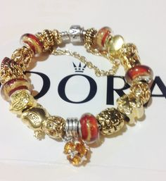 Blue sea european charm bracelet silver palm rhinestones for Pandora jewelry amarillo tx