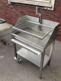 "Fantastic ""built in grill diy"" info is offered on our website. Have a look and you wont be sorry you did. Grill Diy, Barbecue Grill, Grilling Ribs, Outdoor Barbeque, Pit Bbq, Parrilla Exterior, Built In Grill, Grill Design, Rocket Stoves"