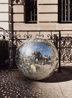 There's always room for a giant Disco Ball!!