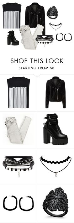"""Untitled #426"" by justbrandy79 on Polyvore featuring Alexander Wang, Paige Denim, NOVICA and INC International Concepts"