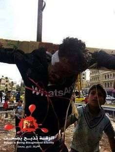 """By Walid Shoebat (Shoebat Exclusive) Sources from the Middle East reveal that ISIS has crucified more young men for being accused of """"Ridda"""". Ridda in Islam means defection from the rel… Breaking Israel News, Syria Conflict, By Walid, Arab Spring, Sharia Law, Shocking News, Islam Religion, Call To Action, Names Of Jesus"""