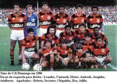 flamengo 1986 - eternamente campeão