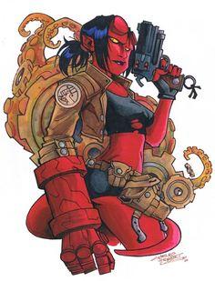 Hellgirl by Charles Holbert Jr.
