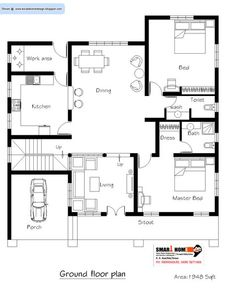home design plans floor metal building homes big house plan designs and 2bhk House Plan, Free House Plans, Small House Floor Plans, Model House Plan, Home Design Floor Plans, Duplex House Plans, House Layout Plans, House Plans One Story, Luxury House Plans