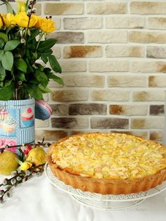 Happy Foods, Apple Pie, Camembert Cheese, Good Food, Food And Drink, Bread, Baking, Sweet, Interesting Recipes
