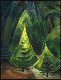 Trees, No. 1, 1932, Emily Carr