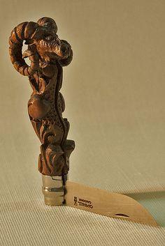Cuchillos y navajas,un lugar de reunión - La Cabra......Opinel nº8, Custom - Navajas