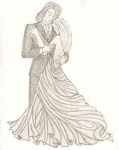 Formal Ballroom Dancing Couple By Myself