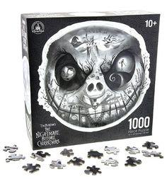 Tim Burtons The Nightmare Before Christmas Disney Parks 1000 Piece Jigsaw Puzzle
