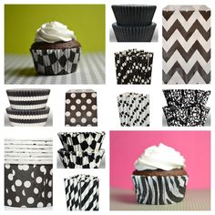 Black and White Party Supply Palate - shopsweetsandtreats.com
