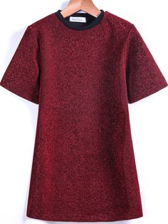 Red Short Sleeve Sparkling T-Shirt 15.83