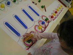 Kkk Montessori Math, Preschool Literacy, Preschool Crafts, Indoor Activities For Kids, Motor Activities, Classroom Activities, Pre Writing, Writing Skills, Early Years Maths