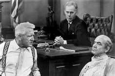 INHERIT THE WIND. Classic movie based on a great play. I love watching Spencer Tracy and Frederic March go picnicking on each other.