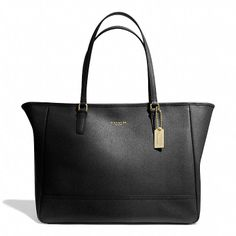 Coach MEDIUM CITY TOTE IN SAFFIANO LEATHER