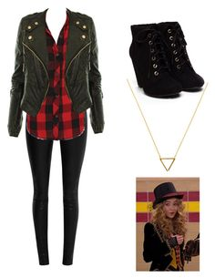 """Maya Hart: GMW"" by e-f-j ❤ liked on Polyvore"