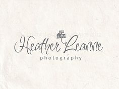 Premade photography logo design using a camera by AquariusLogos, $19.99
