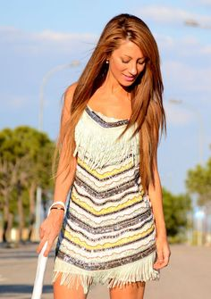 Discover and organize outfit ideas for your clothes. Decide your daily outfit with your wardrobe clothes, and discover the most inspiring personal style Zara Dresses, New Outfits, New Dress, Crochet Top, Personal Style, Cover Up, Sequins, Clothes For Women, My Style
