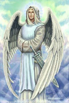 Archangel Raphael by sevencrows