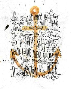For @Carrie Mcknelly Schwartz---Mermaid Poem