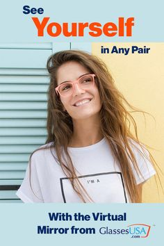 Want to try them out? Check out our virtual mirror where you can try on hundreds of frames in the comfort of your home. Shop now! www.GlassesUSA.com