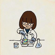 #自分で作る系お菓子にはまる娘 #イラスト