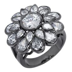 2012 anti silver plated ring