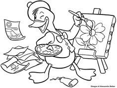 immagini per bambini che amano disegnare e colorare