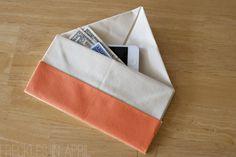 DIY Origami Clutch