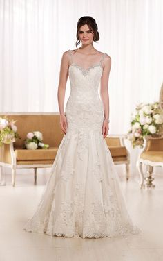 Timeless Wedding Dresses | Essense of Australia #Essense #weddingdress #styleD1865