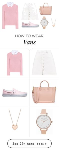 """Pastel"" by abbyzzare on Polyvore featuring Altuzarra, Boohoo, Vans, Olivia Burton and Ginette NY"