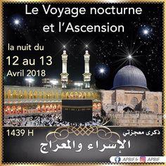 #APBIF Nocturne, Al Isra Wal Miraj, L Ascension, 13 Avril, Movies, Movie Posters, Travel, Night, Film Poster