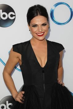 Lana Parrilla (Regina Mills/Evil Queen) at the El Capitan Theatre for the Season 4 Premiere of Once Upon a Time (09/21/14) #OUAT #OUATCast